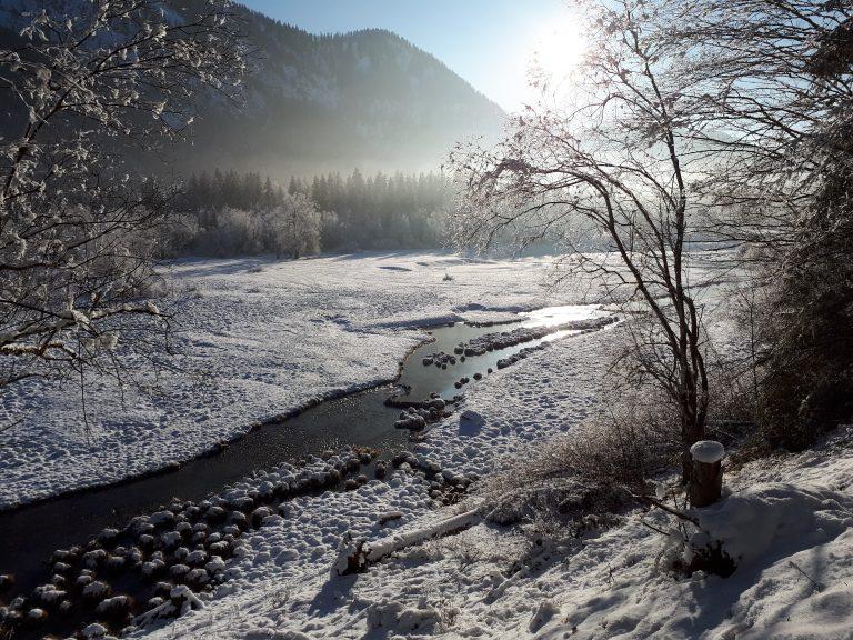 Winterpanorama 3-Seen-Gebiet